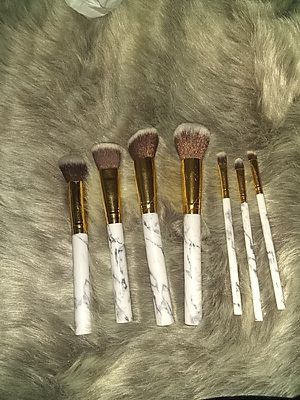 Marble makeup brushes for Sale in Riverside, CA