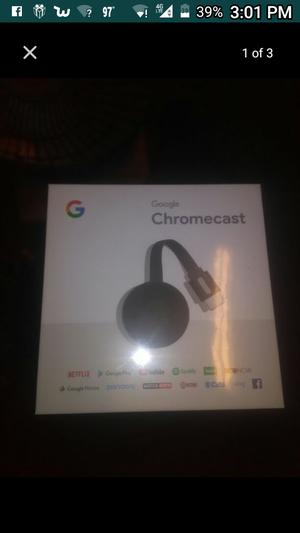Google Chromecast - Brand new in the box. for Sale in Lodi, CA