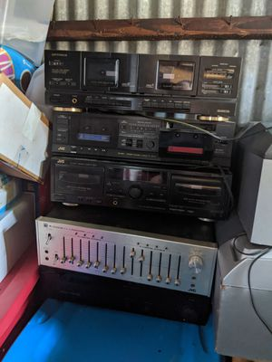 Lot of Stereo equipment!!!! for Sale in Pitman, NJ