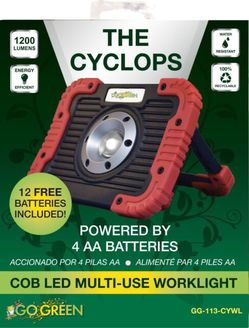 COB Led Worklight Luz Multi-uso Linterna Go Green GG-113-CYWL for Sale in Miami,  FL