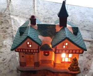 Christmas LIGHT UP CERAMIC HOUSE for Sale in West Palm Beach, FL