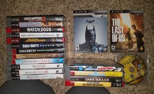 Ps3 ps2 and PS1 video games for Sale in Monticello, IA
