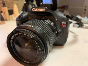 Canon rebel T3i for Sale in Virginia Beach, VA