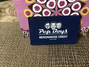 Pepe Boys Merchandise Credit value $163.00 for Sale in Jupiter, FL