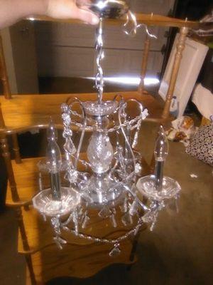 4 Light Crystal Chandelier for Sale in Pomona, CA
