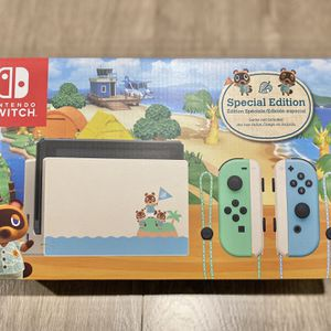 Nintendo Switch Console Animal Crossing V2 BRAND NEW for Sale in Irvine, CA