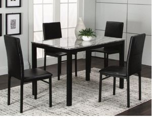 NEW JULIE DINNER RECTANGULAR TABLE WITH CHAIRS ALL NEW IN BOX SEALED for Sale in Jupiter, FL