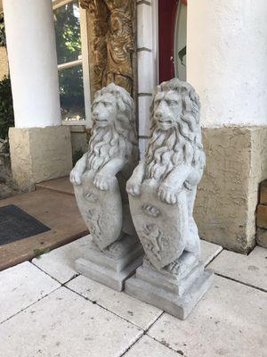 Concrete lions for Sale in Plant City, FL