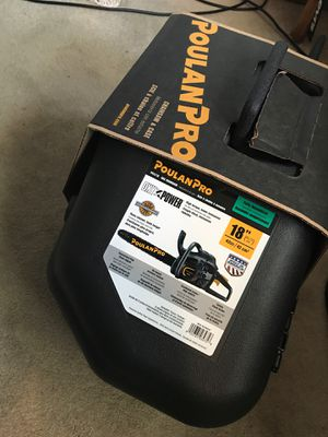 """POULANPRO 18"""" chainsaw for Sale in Raleigh, NC"""