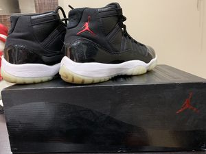 Jordan 11s 72-10 size 10.5 for Sale in MIDDLE CITY WEST, PA