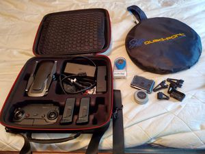 Dji mavic air fly more package with lenses and accessories for Sale in San Jose, CA
