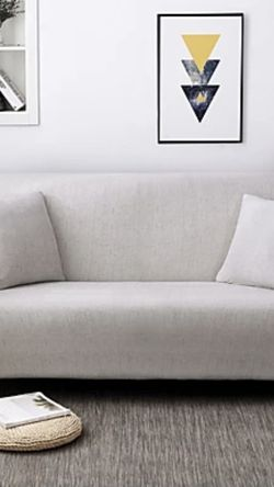 Light Grey Couch Cover for Sale in Atlanta,  GA