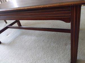 Rectangular Wooden Coffee Table for Sale in Arlington, VA