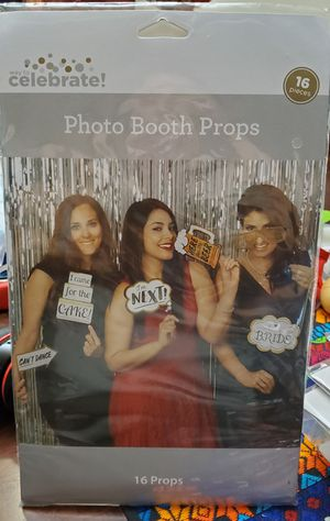 16 piece Wedding themed Photo Booth Props for Sale in San Antonio, TX