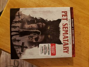 Pet sematary Blu Ray for Sale in Whittier, CA