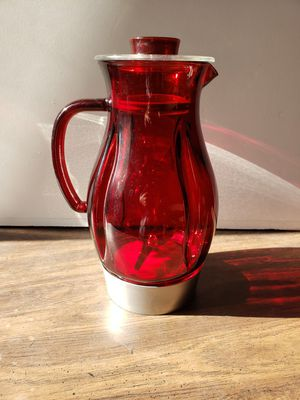 Vintage Jenn Air Attrezzi Red Pitcher for Sale in Los Angeles, CA