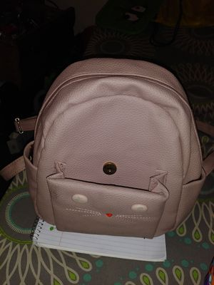 Pink Cat leather backpack and Vera Bradley coin. Purse for Sale in GILLEM ENCLAVE, GA