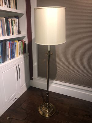 Brass floor lamp antique for Sale in Vancouver, WA