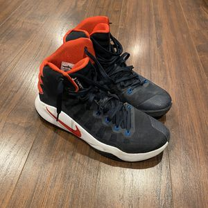 Nike Hyperdunk 2016 Dark Obsidian- Bright Crimson for Sale in Howell Township, NJ