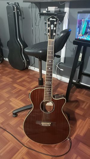 Ibanez acoustic/electric guitar for Sale in Hollister, CA