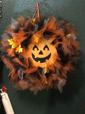 Pumpkin wreath for Sale in El Mirage, CA
