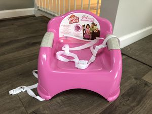 Pink booster seat for Sale in St. Louis, MO