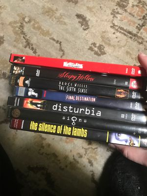 Movies (scary/thriller) for Sale in Amarillo, TX