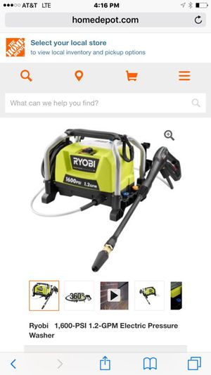 Ryobi electric pressure washer new in box for Sale in Austin, TX