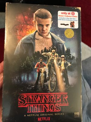 Stranger Things season 1 collector's edition new for Sale in Wichita, KS