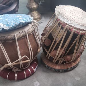 Indian Tabla Set With Base And Cover - Hardly Used $200 Pair for Sale in Fremont, CA