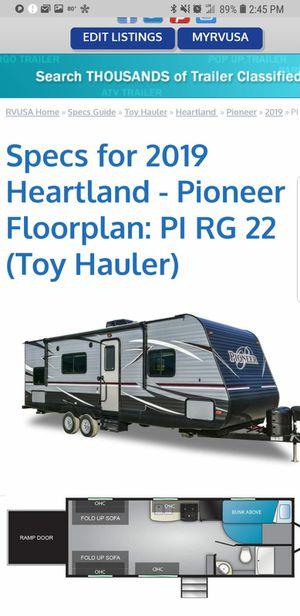 Toy Hauler - Camping Trailer for Sale in Powder Springs, GA