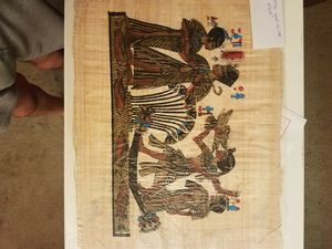 Egyptian Paintings on Papyrus for Sale in Houston, TX