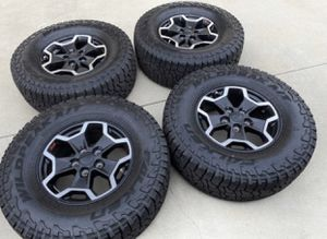 """17"""" Jeep Wrangler Rubicon Gladiator NEW wheels and tires for Sale in Huntington Beach, CA"""