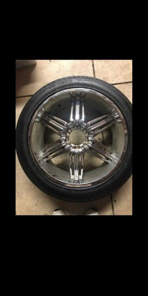 "22""TIRES WITH RIMS for Sale in Columbus, OH"