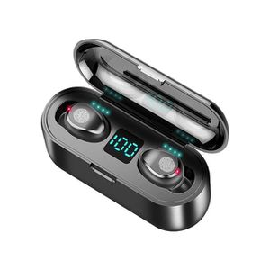 Headset Wireless Earbuds Power Bank Headphones Black & White for Sale in Revere, MA