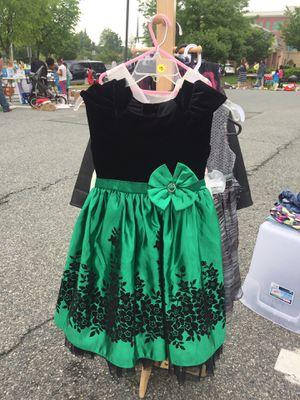 Girls velvet/satin party dress size 8 for Sale in Rockville, MD