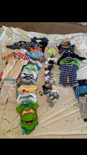 Baby boy clothes newborn, 0-3 months, & 3-6 months for Sale in Castle Shannon, PA