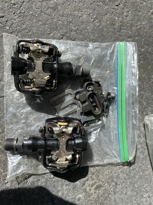 Two pairs of Clipless bike peddles for Sale in Merritt Island, FL
