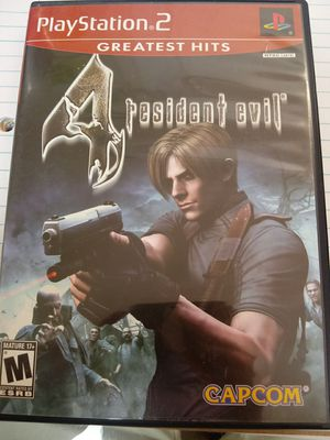 PS2- resident evil - game - tv-controller-1080p-720p- for Sale in Naples, FL
