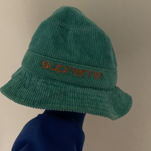 Supreme Compact Logo Corduroy Crusher Teal🔥 for Sale in Scottsdale, AZ