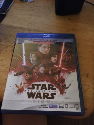 Star wars the last Jedi Blu-ray for Sale in Knoxville, TN