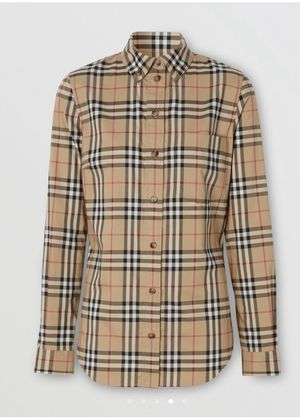 Women's Burberry Check Shirt for Sale in Southfield, MI