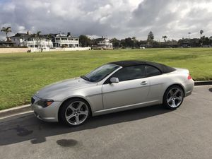 2007 BMW 650i Convertible- NICE! for Sale in San Diego, CA