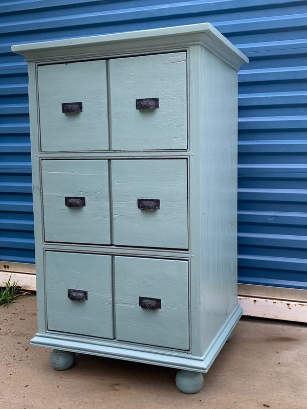 Large File Cabinet or Storage Cabinet, solid pine