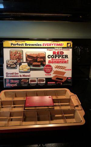 Copper Brownie Pan for Sale in Westland, MI