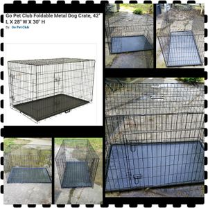 Large dog crate for Sale in NEW CARROLLTN, MD