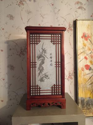 Asian theme table lamp for Sale in Ada, OK