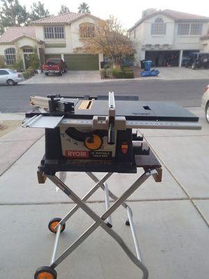 Ryobi table saw for Sale in Las Vegas, NV