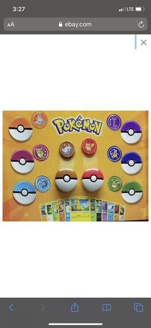 Pokémon toys (And Trading Cards) MCD for Sale in Northfield, OH