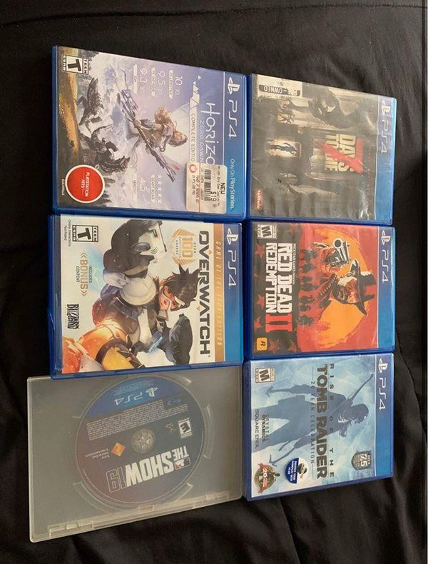 Ps4 Slim W Games And Controllers